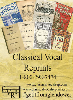 Classical Vocal Reprints